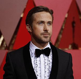 Amerikāņu aktieris Raiens Goslings. Foto no arhīva