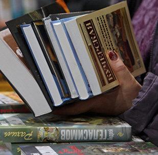 Krievijas rakstnieku jaunākie daiļdarbi Latvijas grāmatu izstādē