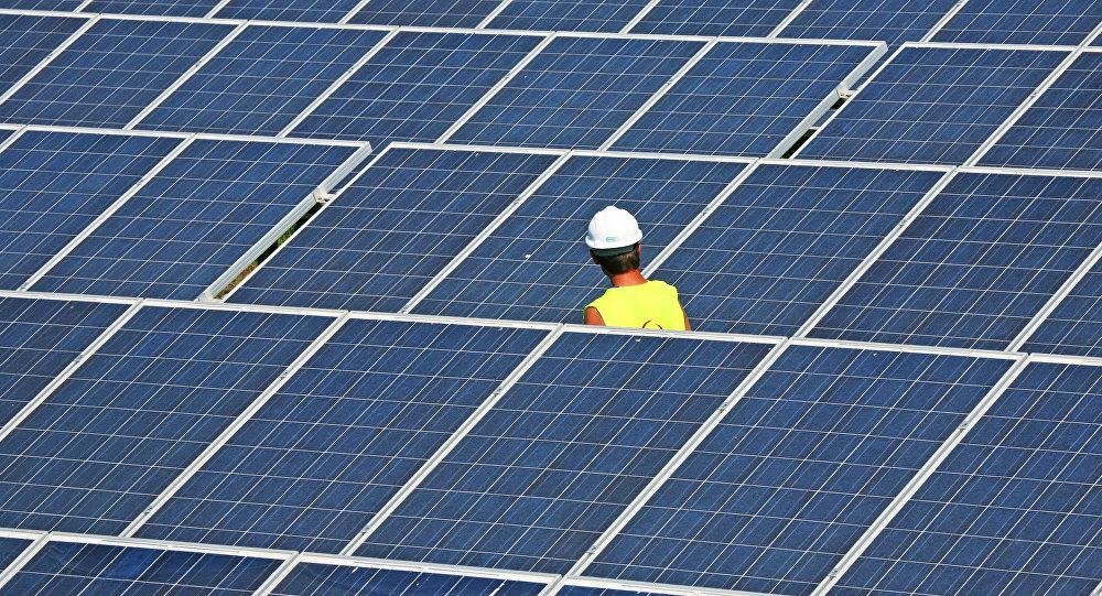 Saules enerģijas elektrostacija