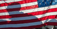 Флаг Соединённых Штатов Америки, архивное фото