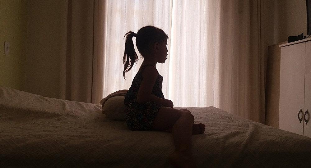 Силуэт ребенка