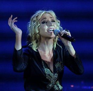 Krievijas dziedātāja Kristīne Orbakaite