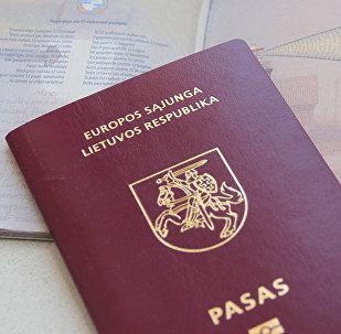 Lietuvas pasēs