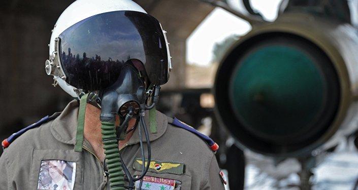 Sīrijas lidotājs Hamas aviobāzē