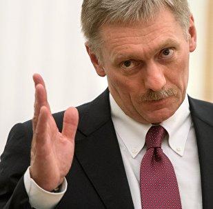 Krievijas prezidenta preses sekretārs Dmitrijs Peskovs