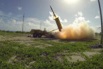 Противоракетный комплекс подвижного наземного базирования THAAD
