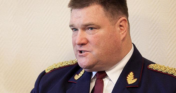 Начальник Госполиции Латвии Интс Кюзис