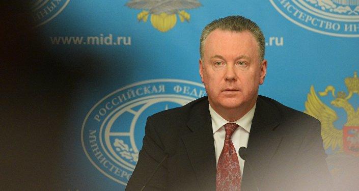 Официальный представитель МИД России А.Лукашевич