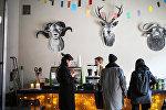 Рижское кафе на рынке латвийских дизайнеров
