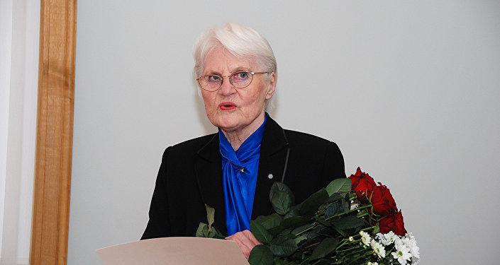 Латвийская художница Джемма Скулме