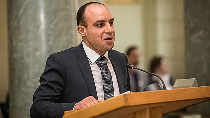 Руководитель проекта Sadarbības tilts Абделхамид Элмарья