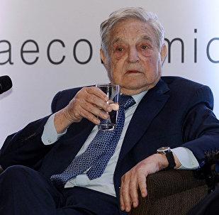 Магнат и филантроп Джордж Сорос