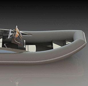 Моторная лодка производства фирмы Campo