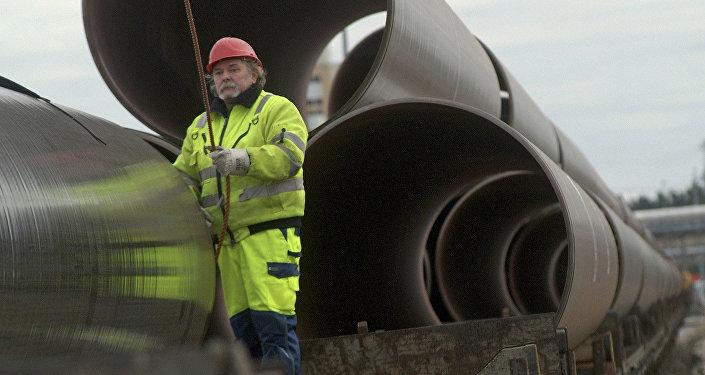 Трубы для строительства газопровода