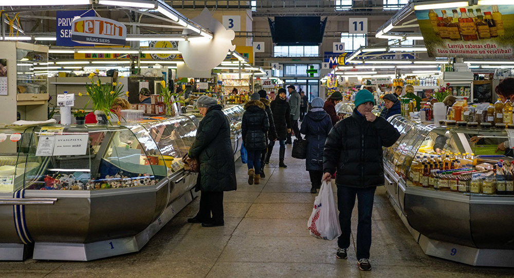Молочный павильон на Центральном рынке