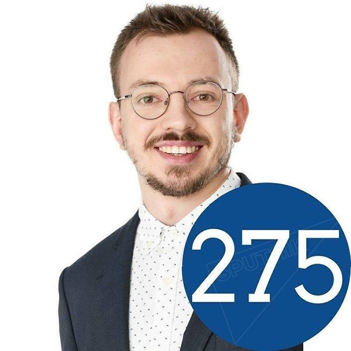 Кандидат от Истинных финнов в городе Оулу Лев Стипаков