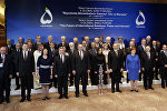 Президент Латвии Раймондс Вейонис на глобальном форуме в Баку