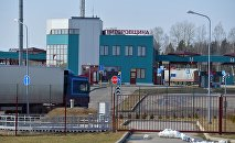 Пункт пропуска Григоровщина на белорусско-латвийской границе