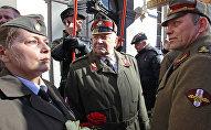 Leģionāru dienas pasākumi Rīgā 2017. gada 16. martā