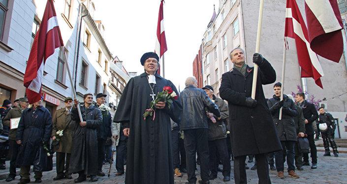 Мероприятия Дня легионеров в Риге 16 марта 2017 года