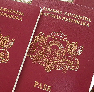 Латвийский паспорт