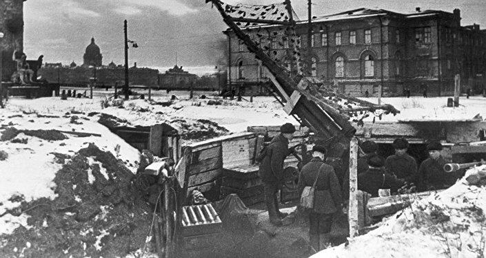 Оборона блокадного Ленинграда, архивное фото
