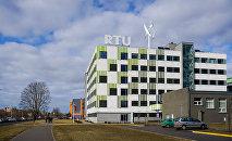 Ķīpsala, Rīgas Tehniskās universitātes ēku komplekss