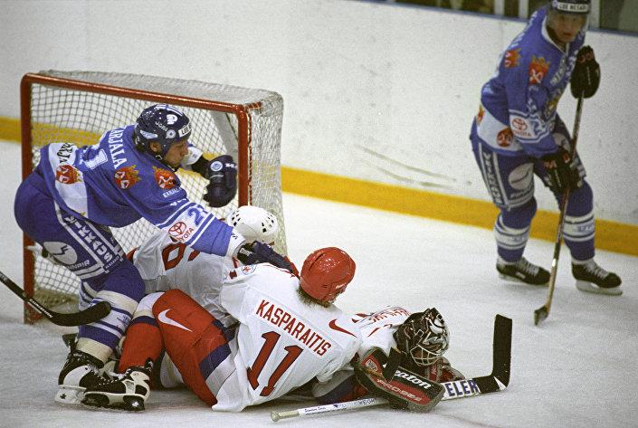 Товарищеский матч по хоккею между сборными командами России и Финляндии, 2010 год