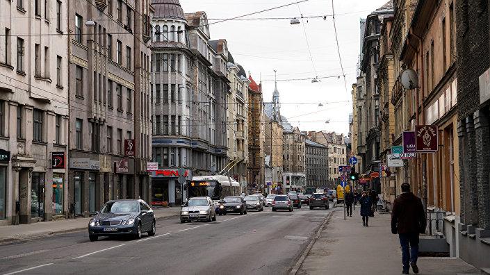 Улица Александра Чака