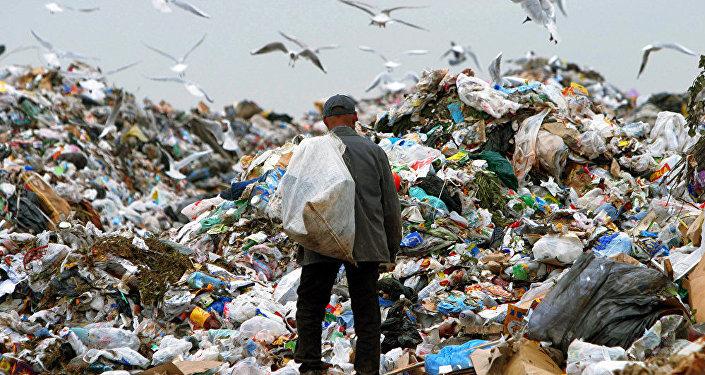 Rūpniecības atkritumu izgāztuve. Foto no arhīva