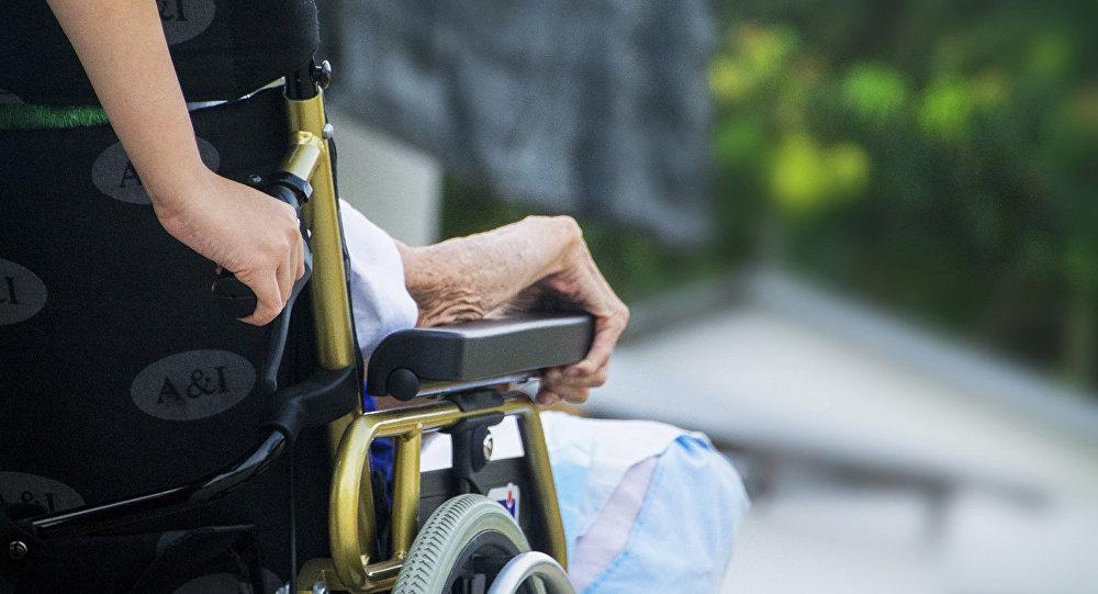 Pacients ratiņkrēslos