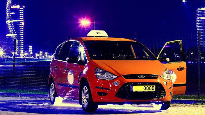 Такси на рижской набережной
