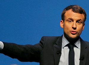Bijušais Francijas ekonomikas ministrs Emanuels Makrons