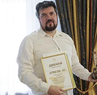 Sputnik korespondents Vladimirs Dorofejevs