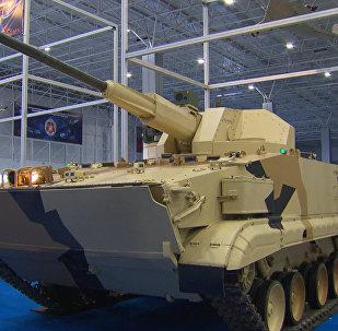 Roboti armijas dienestā: Piemaskavā notikusi tehnisko inovāciju izstāde