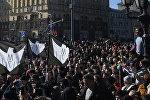 Nesankcionēta akcija Maskavas centrā