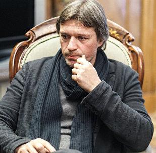 Художественный руководитель Московского академического театра имени Маяковского Миндаугас Карбаускис
