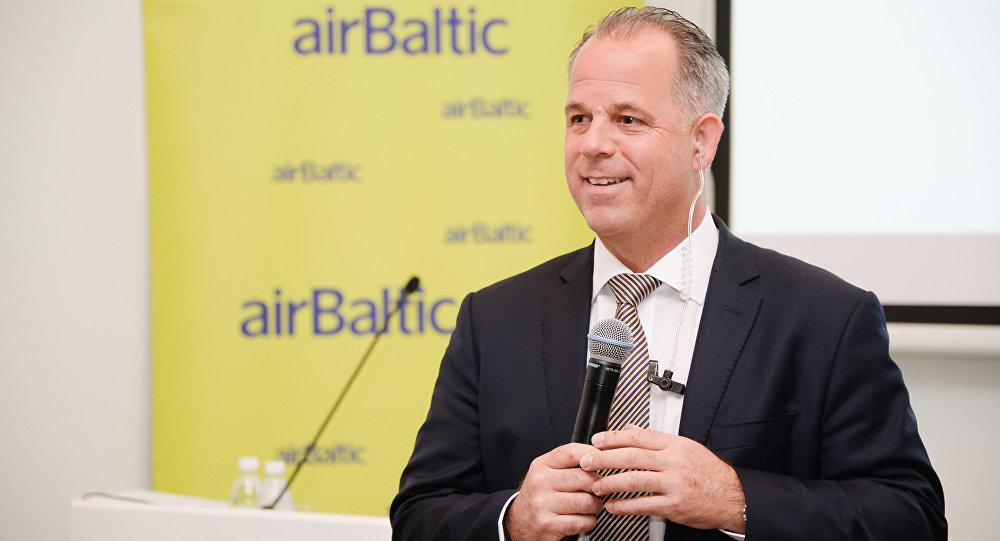 Aviokompānijas airBaltic izpilddirektors Martins Gauss