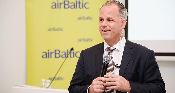 airBaltic valdes priekšsēdētājs Martins Gauss