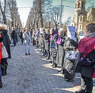 Студенты RPIVA протестуют против уничтожения своей академии