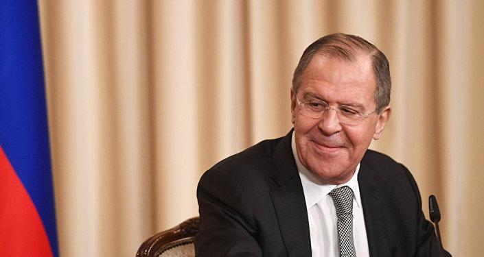 Krievijas ārlietu ministrs Sergejs Lavrovs
