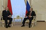 Заявление Путина и Лукашенко в связи со взрывом в Петербурге