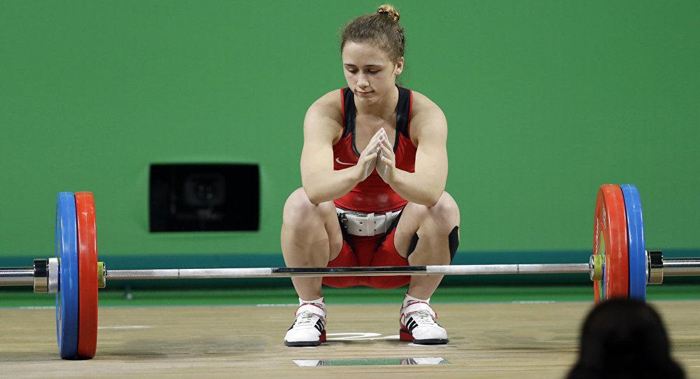 Ребека Коха переписала историю тяжелой атлетики Латвии