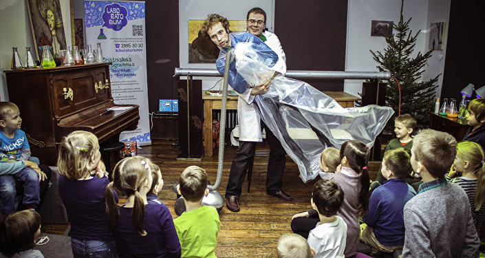 Детский научно-образовательный центр Laboratorium.lv