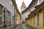 Башня Мункадетагуне и стена Старого Таллина