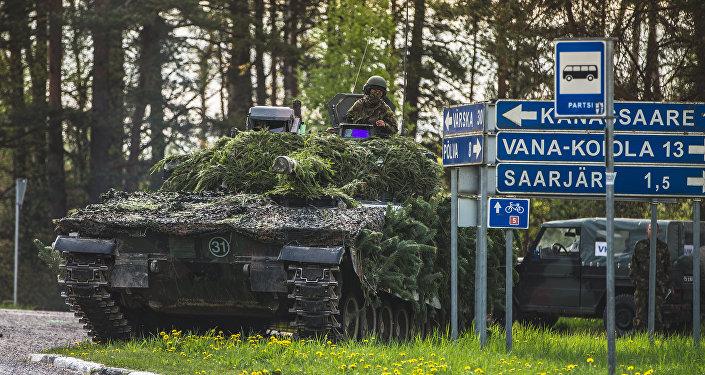 NATO mācībās Pavasara vētra Igaunijā