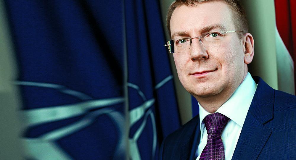 Эдгарс Ринкевичс министр иностранных дел Латвии