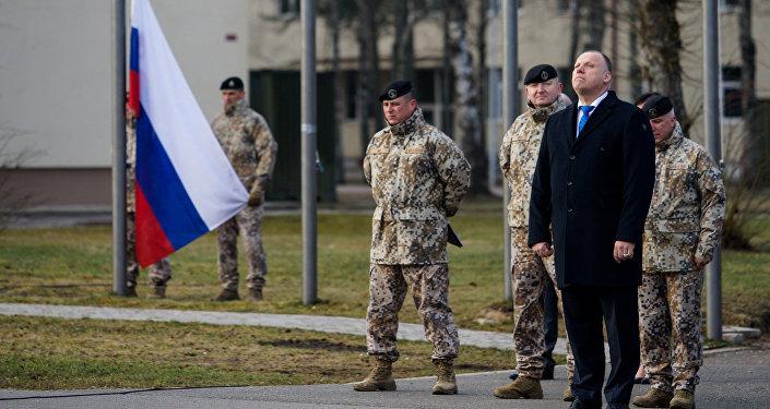 ВЛатвии впроцессе учений пострадали военные изсоедененных штатов