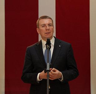 Latvijas Ārlietu ministrs Edgars Rinkēvičs