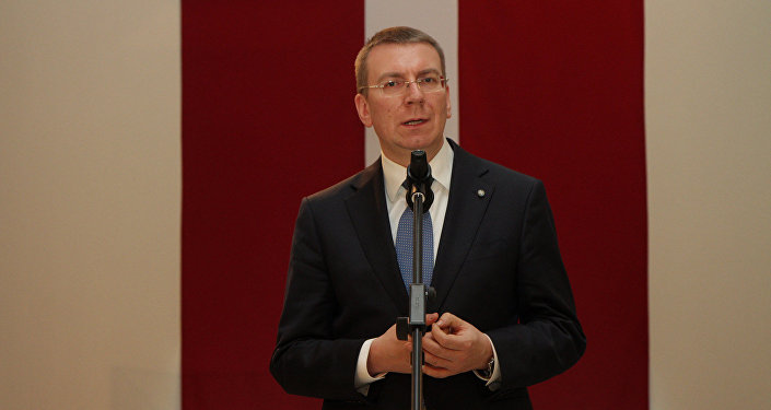 Министр иностранных дел Латвии Эдгарс Ринкевичс. Архивное фото
